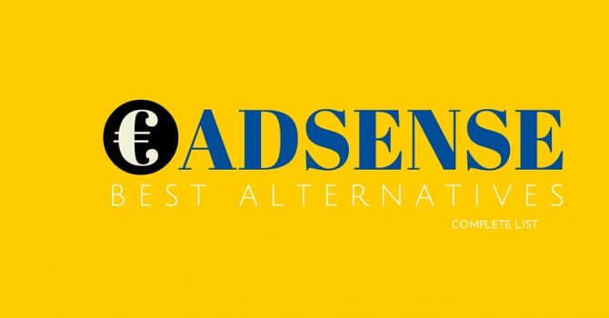 alternatives for Google adsense