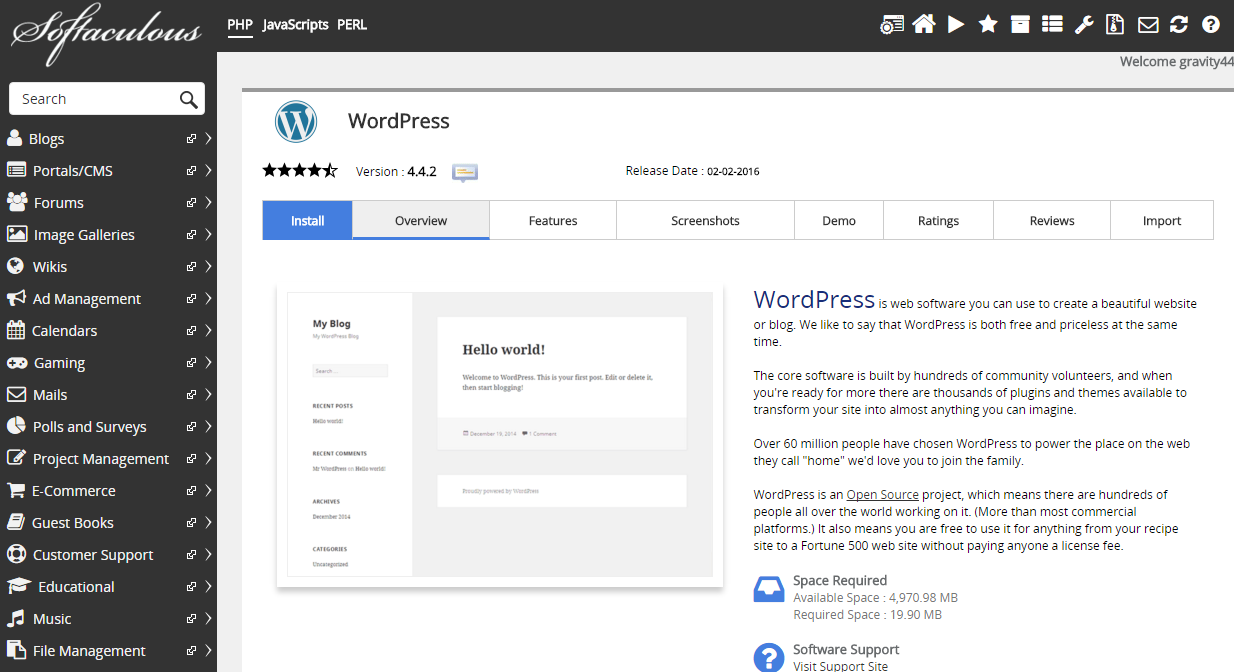 How to Install WordPress on a server