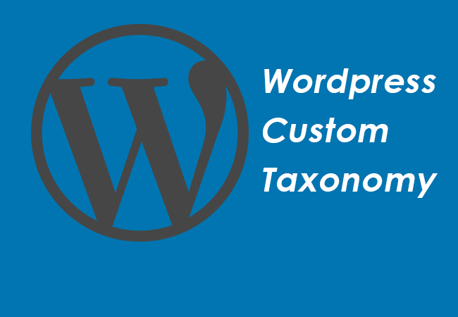 How to register a custom taxonomy in Wordpress
