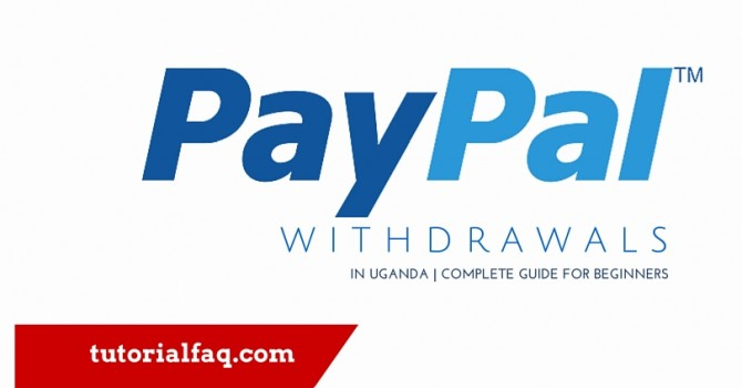 Withdraw Paypal money in Uganda