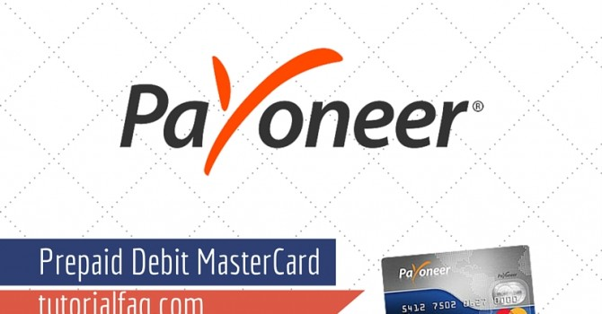 Payoneer Prepaid Debit MasterCard