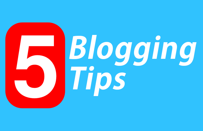 5 Blogging tips for beginners