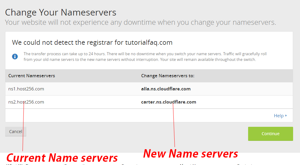 How to Add a website on CloudFlare