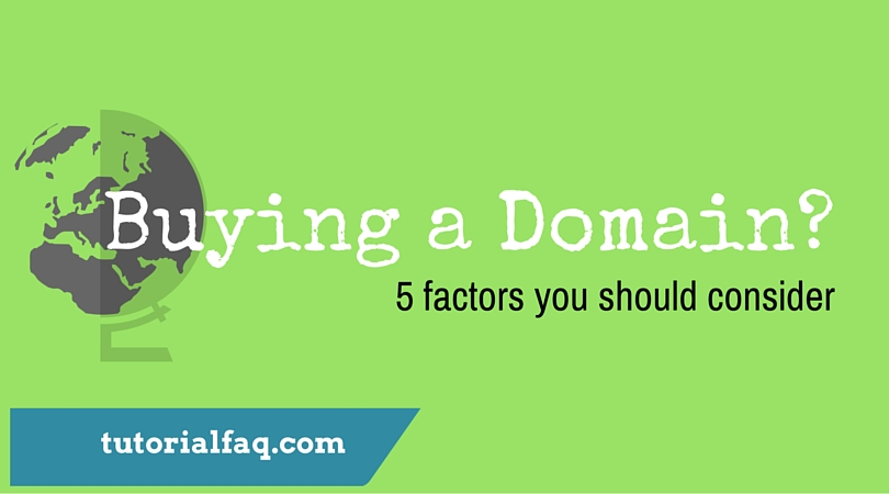 buy a domain name