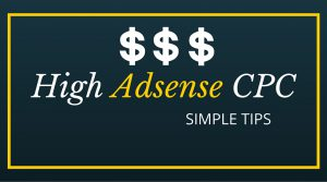 Increase Adsense CPC
