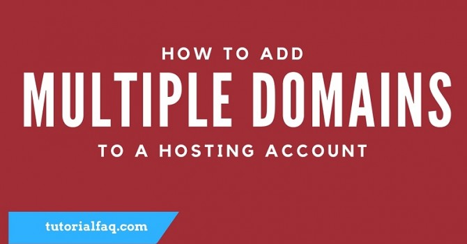 Add Multiple Domains