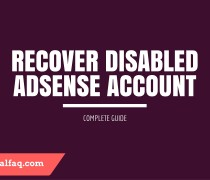 disabled Adsense account