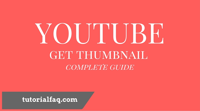 how to get the thumbnail you want on youtube