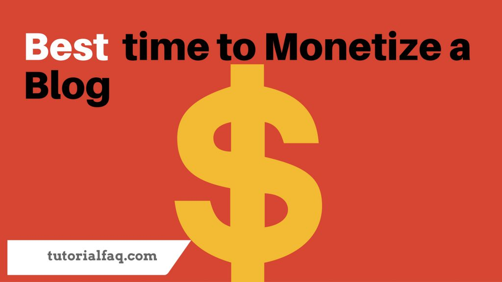 Monetize a Blog