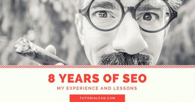 8 years of SEO