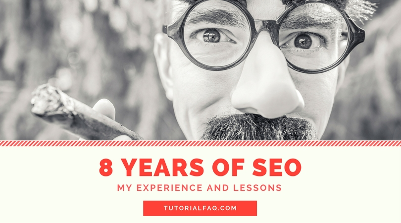 8 years of SEO